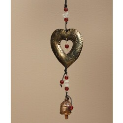 Iron and Glass Heart of the Matter Hanging Art (India)
