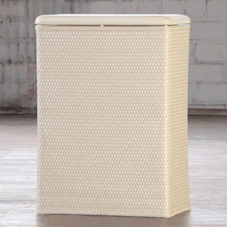 Carter Family Ivory Laundry Hamper