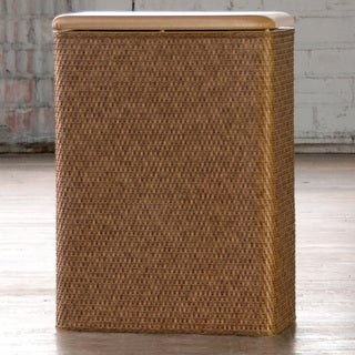 Carter Family Cappuccino Laundry Hamper