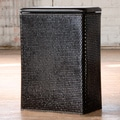 Carter Family Black Laundry Hamper