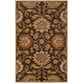 Hand-tufted Wool Chocolate Waltzer Rug (5' x 8')