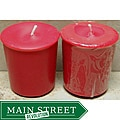 Southern Made Candles Soy 2-oz Red Votives (Pack of 6)