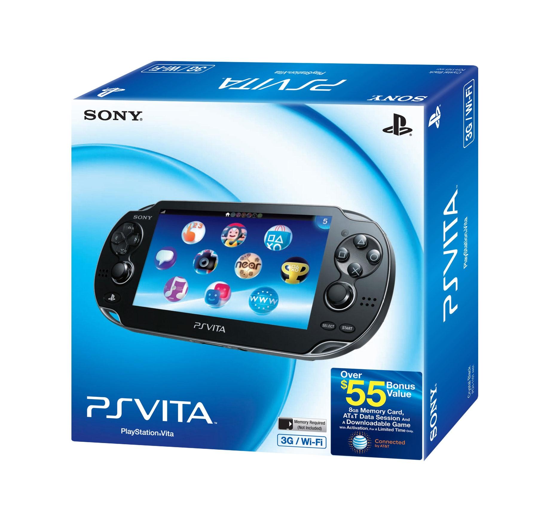 PS Vita - Vita 3G Bundle