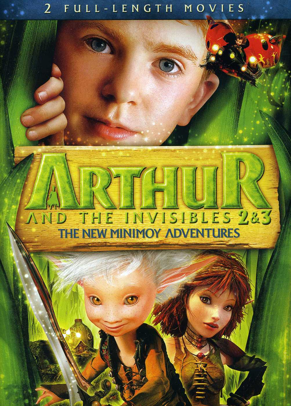 Arthur and the Invisibles 2 & 3: The New Minimoy Adventures (DVD)