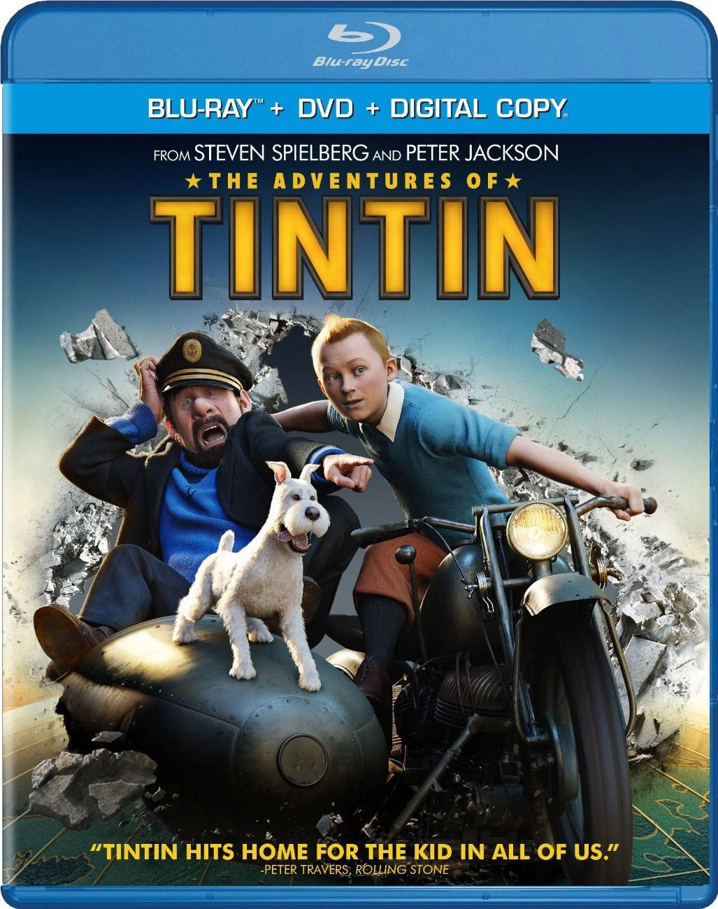 The Adventures of Tintin (Blu-ray/DVD)