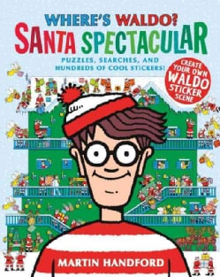 Where's Waldo? Santa Spectacular (Paperback)