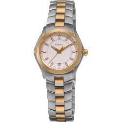 Ebel Women's 'Classic Sport' Two Toned Stainless Steel Quartz Watch