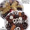 Art of Appreciation Gift Baskets: 36-Piece Premium Belgian Chocolate-Dipped Treats Gift Platter
