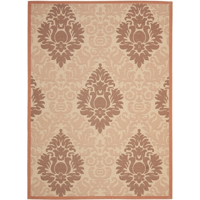 Safavieh Cream/Terracotta Indoor/Out
