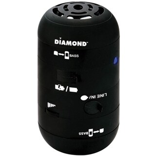 DIAMOND Mini Rocker MSPBT200 Speaker System - 4 W RMS - Wireless Spea