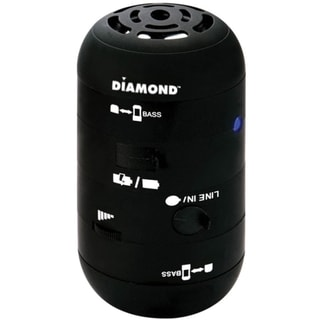 DIAMOND Mini Rocker MSPBT200 Speaker System - 4 W RMS - Wireless Spea