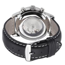 Zeno Men's 6069BVD-D1 'Magellano' Black Dial Chronograph Automatic Watch