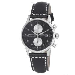 Zeno Men's 6069BVD-D1 'Magellano' Black Dial Chronograph Automatic Watch