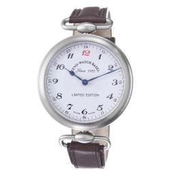 Zeno Men's 80 ANNIVERSARY 'Limited Edition' 80th Anniversary Brown Strap Watch