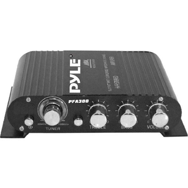 Pyle PFA300 Car Amplifier - 90 W RMS - 2 Channel - Class T