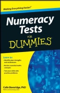 Numeracy Tests For Dummies (Paperback)