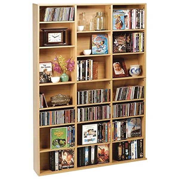 Maple Oskar Wood Multimedia Storage Unit