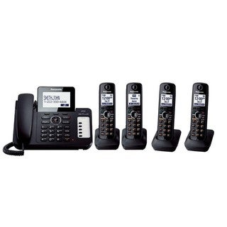 Panasonic DECT 6.0 Handset Corded/ Cordless Phone Kit