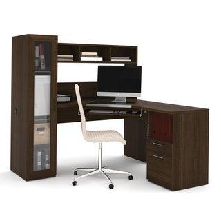 Bestar Tuxedo Jazz Corner Workstation