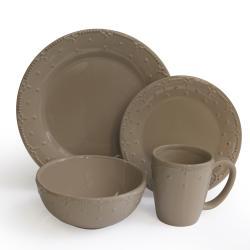 American Atelier Taupe 16-piece Dinnerware Set
