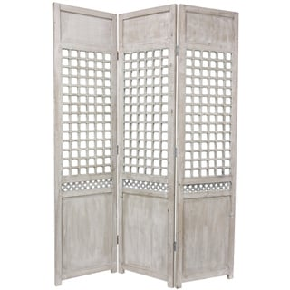 Wood Open Lattice Room Divider (China)