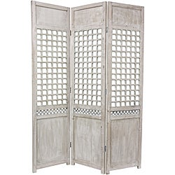 Wood Open Lattice Room Divider (China)