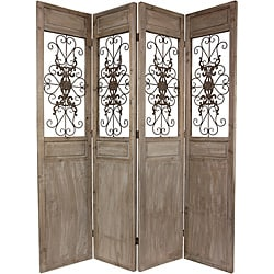 Woof Tall Railing Scroll Room Divider (China)