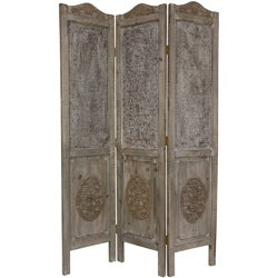 Closed Mesh 6-foot Antique Design Room Divider (China)