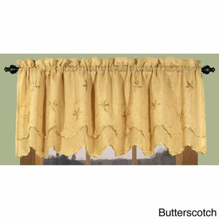 Zurich Vine and Leaf Scalloped Valance