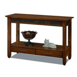 Rustic Oak Sofa Table