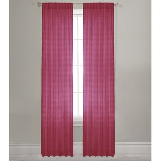Maytex Lynette 84-inch Semi-sheer Window Panel