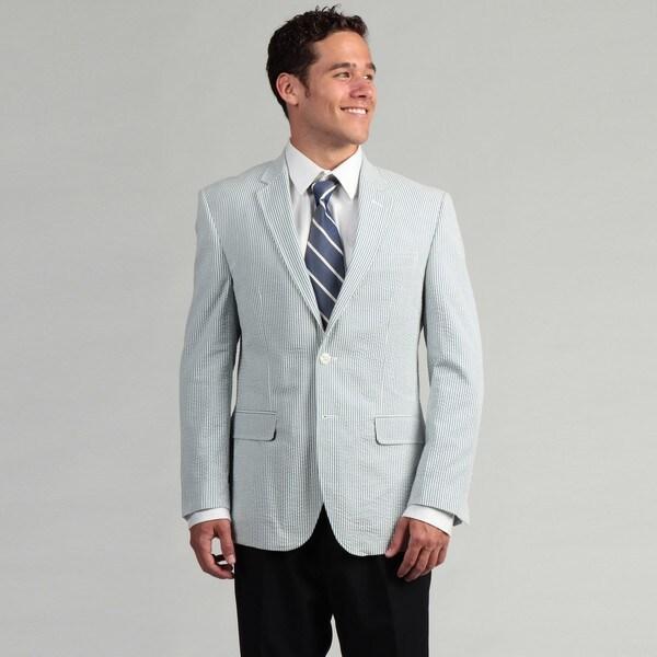 Tommy Hilfiger Men's Seersucker Sportcoat