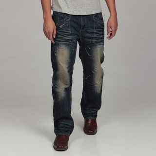 WT02 Men's Washed Denim Jeans