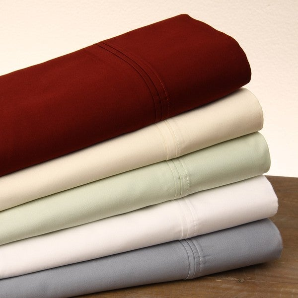 Egyptian Cotton Sateen 500 Thread Count Sheet Set