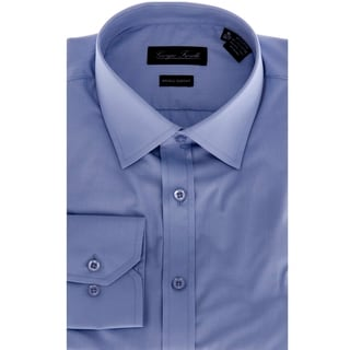Giorgio Fiorelli Men's Blue Slim-Fit Dress Shirt