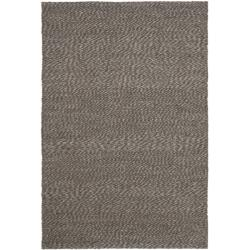 Handwoven Natural Fiber Doubleweave Sea Grass Grey Rug (8' x 10')