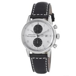 Zeno Men's 6069BVD-D2 'Magellano' Silver Dial Chronograph Automatic Watch