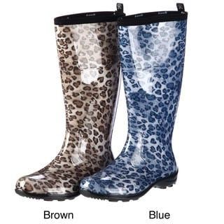 Kamik Women's 'Kanya' Animal Print Rainboots