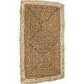 Asian Rustic Rush Grass and Maize Rug (2'7 x 1'6)
