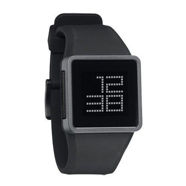 Nixon Men's 'Newton Digital' Silicone Strap Digital Watch