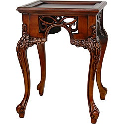 Wood 'William the Conqueror' End Table (China)