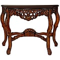Wood 'Queen Victoria' Console Table (China)