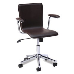 Favorite Finds Brown Steel Desk Chair