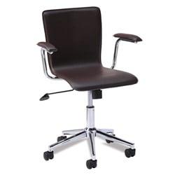 Favorite Finds Brown Steel Desk Chair