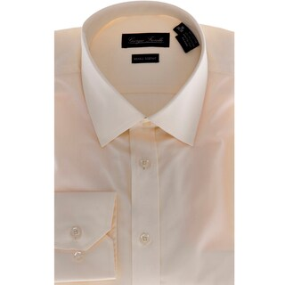 Giorgio Fiorelli Men's Modern-Fit Dress Shirt, Beige