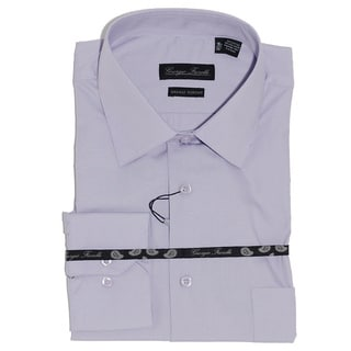 Giorgio Fiorelli Men's Modern-Fit Dress Shirt, Lavender