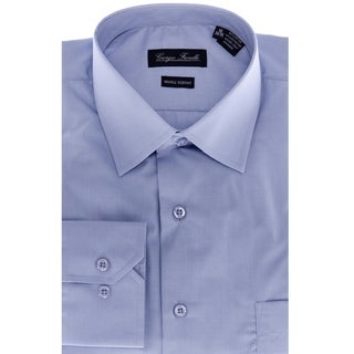 Giorgio Fiorelli Men's Modern-Fit Dress Shirt, Blue