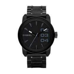 Diesel Men's Black Stainless Steel Watch