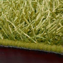 Hand-woven Lime Drexel Soft Shag (3'6 x 5'6)