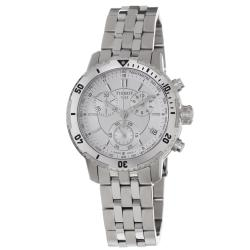 Tissot Men's T067.417.11.031.00 'PRS-200' Silver Dial Stainless Steel Watch
